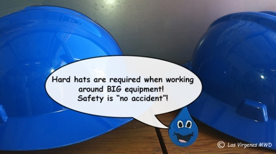 Love the blue hard hats, BLUE is my favorite color