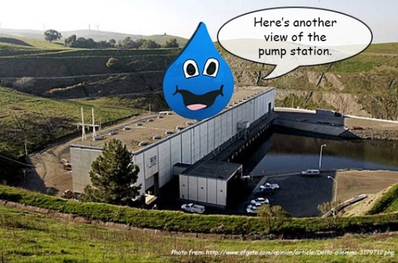 It's a pumping station, hmmm!