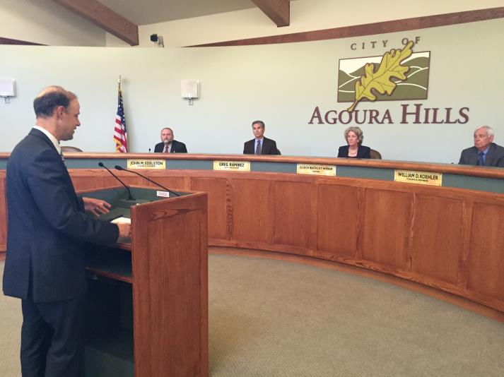 Dave Pederson-Agoura City Council - 05.27.2015