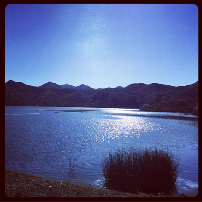 Las Virgenes Reservoir