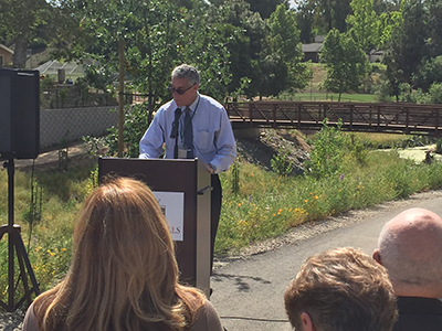 L.A. Regional Water Quality Control Board Executive Officer Sam Unger reflects on the significance of the project and its beneficial impacts on the watershed.