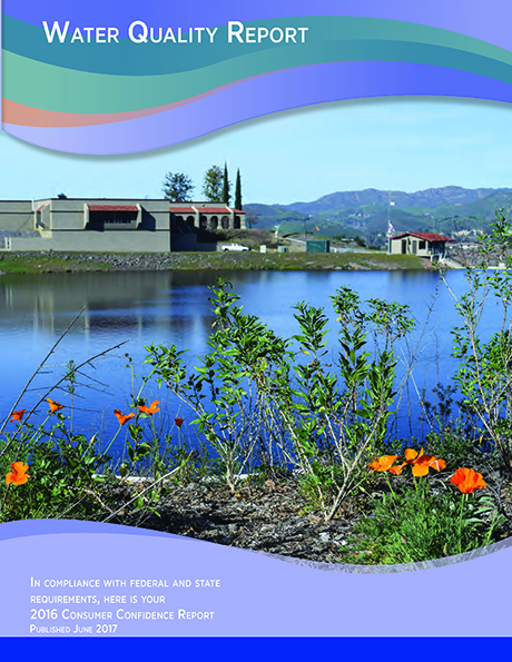 Water Quality Report 2016 Front Cover