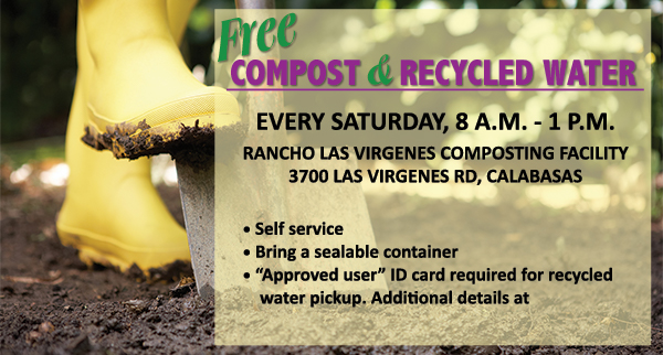 Free Compost & Recycled Water