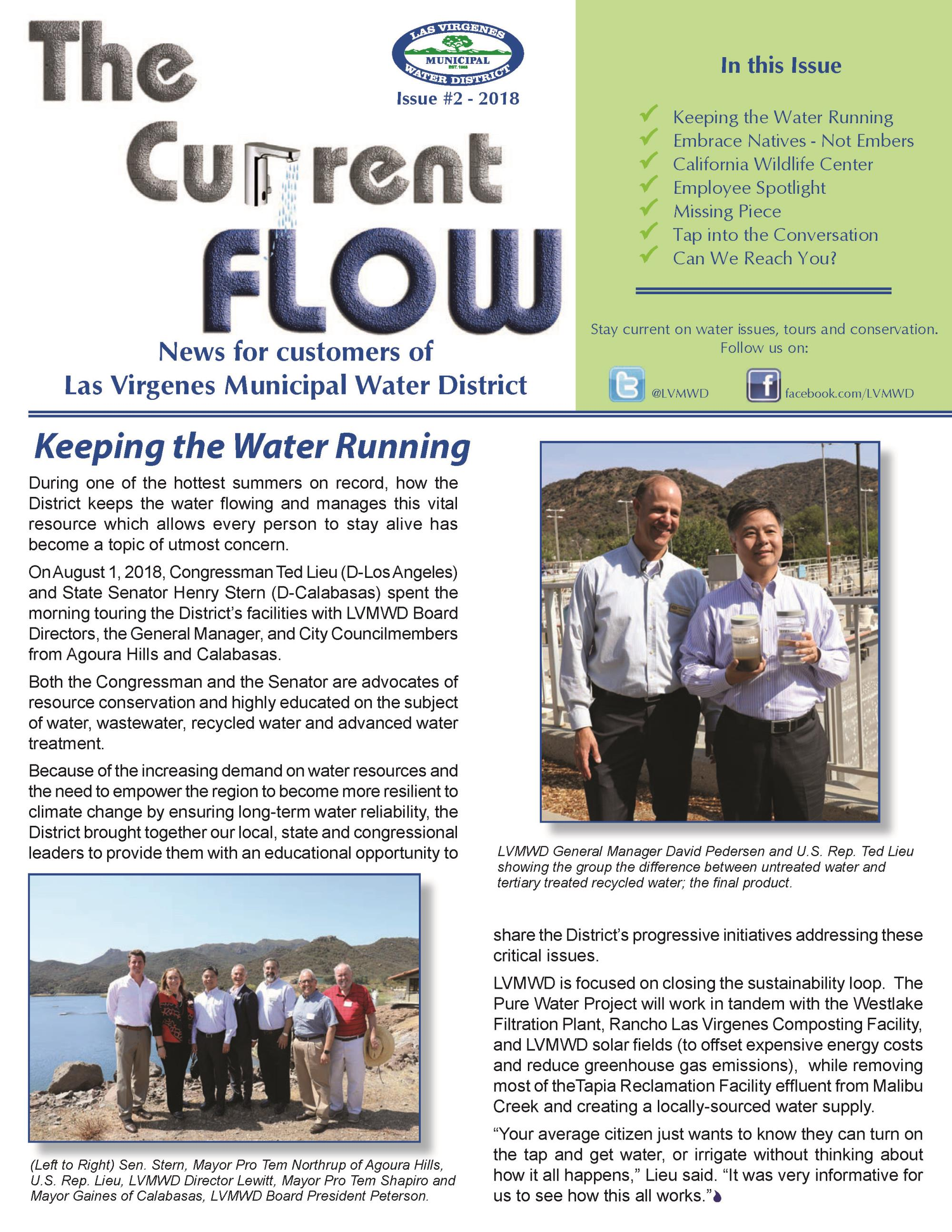 The Current Flow - Issue 2 - Front Page