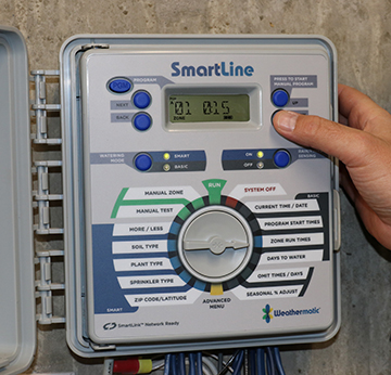 Weather Based Irrigation Controller