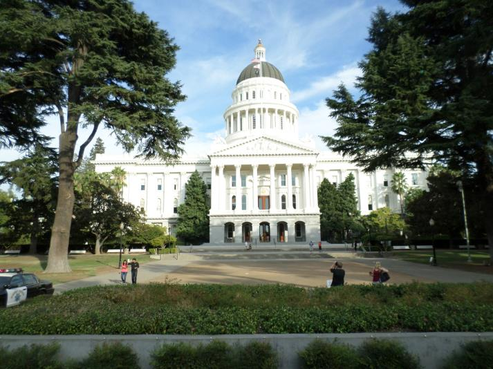 State Capital in Sacramento